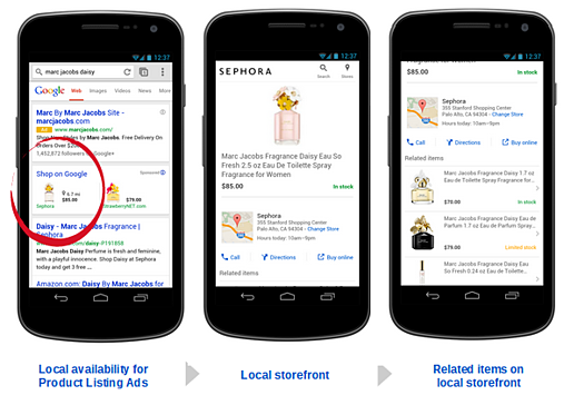 Google Shopping Local Inventory Ads