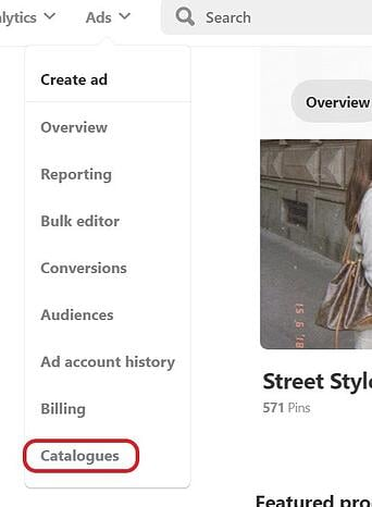 pinterest-product-catalogues